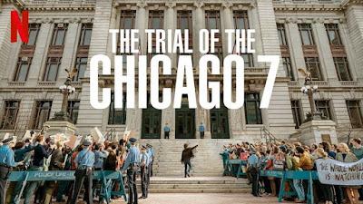 El juicio de los 7 de Chicago - Cartel
