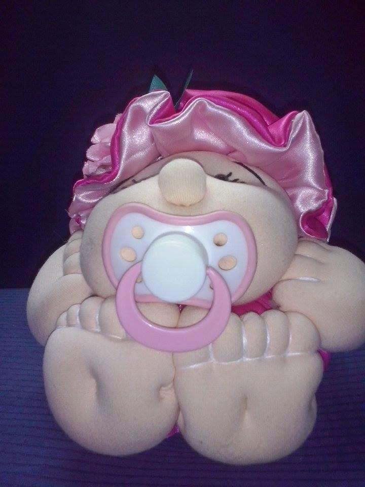 boneca de pano bebê batata