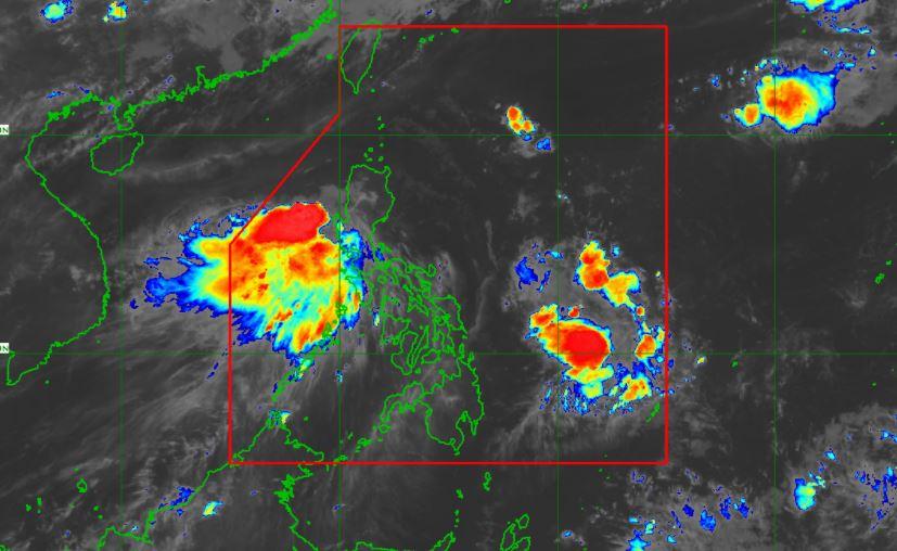 Satellite image of Tropical Storm 'Dante' June 3, 2021