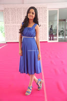 Divya Nandini stunning Beauty in blue Dress at Trendz Exhibition Launch ~  Celebrities Galleries 067.JPG