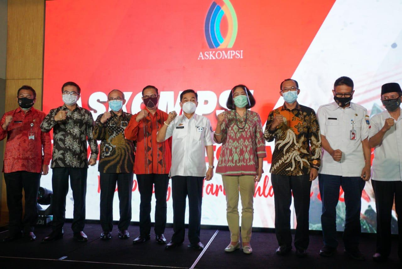 ASKOMPSI Communication AWARD 2020 digelar, Achmad Chrisna Putra Sampaikan Penghargaan Kepada Sejumlah Lembaga dan Pimpinan Daerah