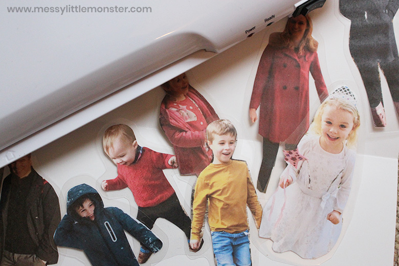 All about me activity for toddlers and preschoolers