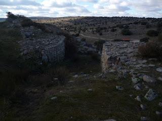 Segundo acceso. Muralla norte. Las Cogotas