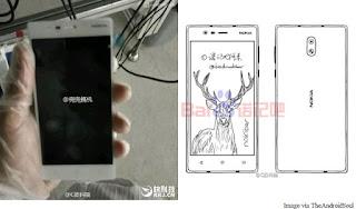 Penampakan Nokia Android Terbaru 2017 Dalam Sketsa