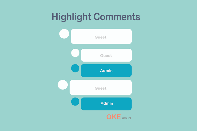 hightlight comment blogger