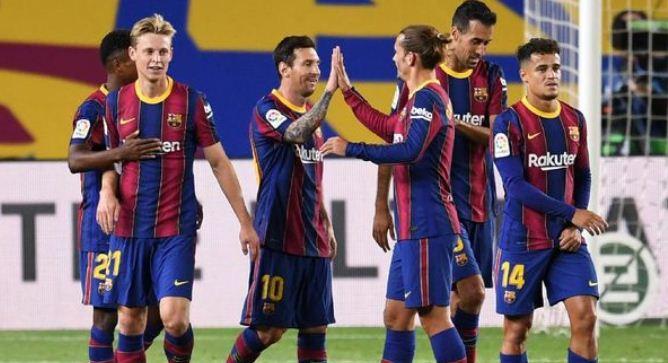 Barcelona vs Villarreal 4–0 Highlights