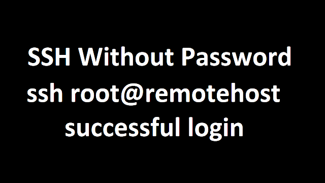 SSH Without Password in Linux