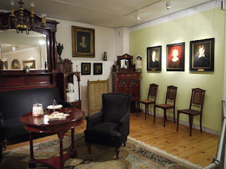 """Einblick in das """"Wesendonck-Zimmer"""" im StadtMuseum Bonn"""