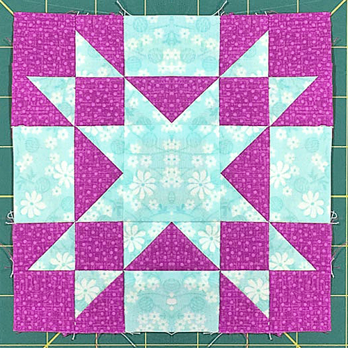 Amish Star Quilt Block‏ - Free Pattern