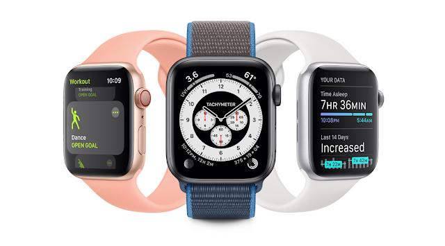 أبل تطلق الإصدار السابع من watchOS 7 للمطورين