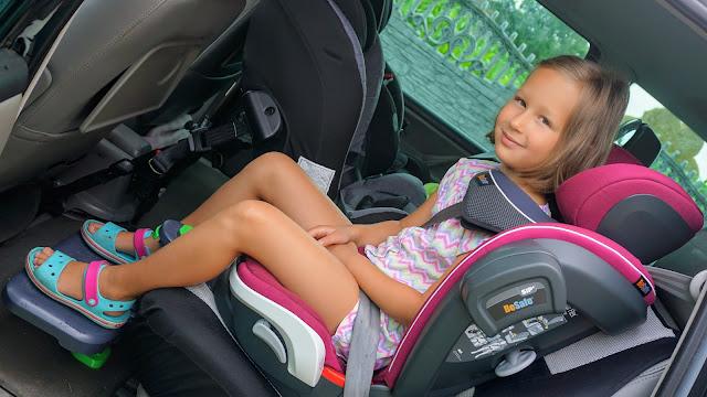 besafe iziflex i podnóżek do auta kneeguard kids 3 w aucie ford galaxy