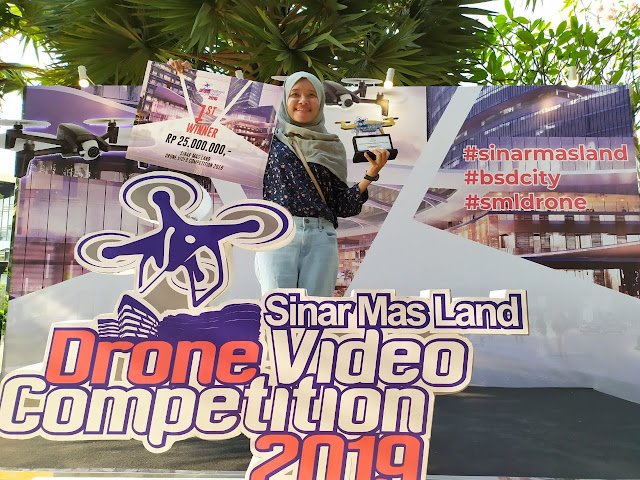 Dapat 25 Juta Lomba Drone Sinarmas BSD City 2019