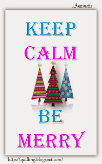 Keep Calm Be Merry Free Printable