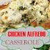 THE BEST CHICKEN ALFREDO CASSEROLE