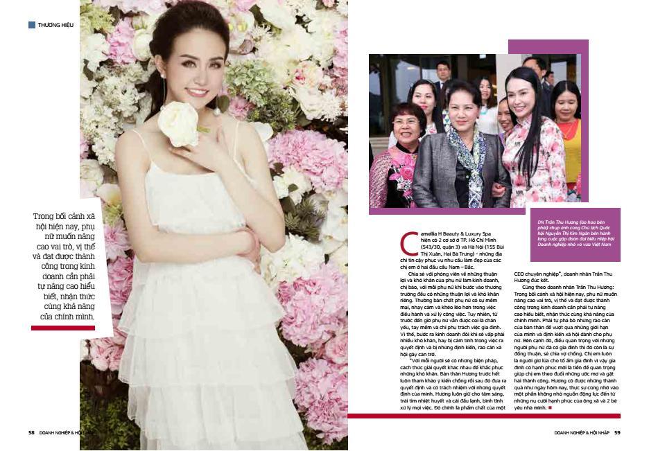 CEO Trần Thu Hương: 'Gia đình là tiền đề giúp tôi thành công' - Ảnh 2