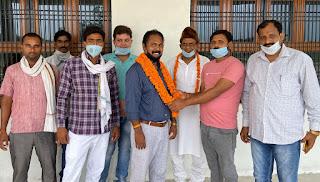 मुंगरा विधानसभा प्रभारी डॉ. प्रमोद के. सिंह का कार्यकर्ताओं ने किया भव्य स्वागत | #NayaSaveraNetwork