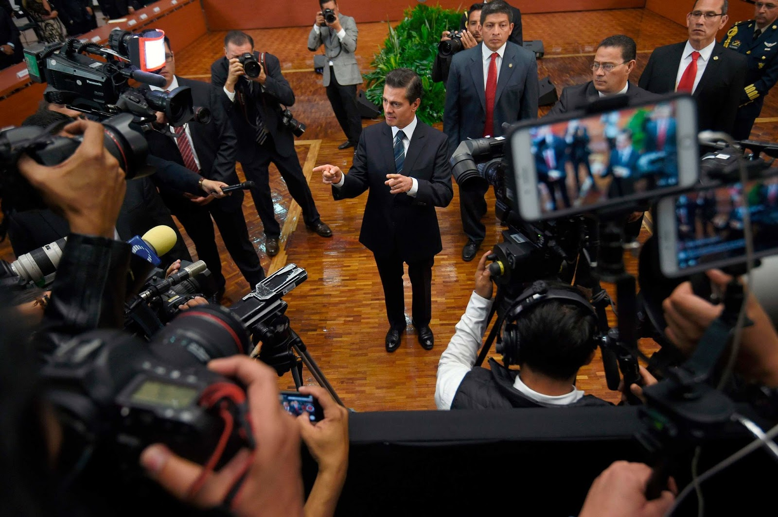 President enrique pe a nieto center vowed last month to take concrete steps to ensure the safety of journalists in mexico