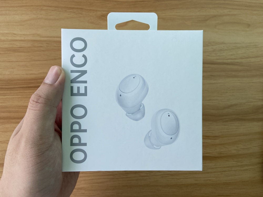 OPPO Enco Buds (W12) Retail Box Front