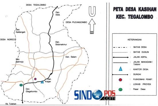 Profil Desa & Kelurahan, Desa Kasihan Kecamatan Tegalombo Kabupaten Pacitan