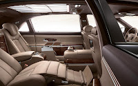 Maybach Edition 125 interior