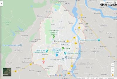 bhubaneswar city map