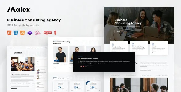 Best Business Consulting Agency HTML Template