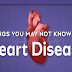 10 Things You May Not Know About Heart Disease #infographic