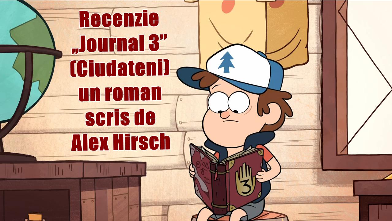 Recenzie Journal 3 de Alex Hirsch ~ The cemetery of books