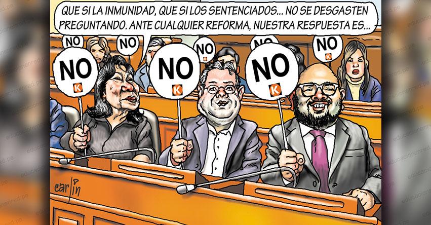 Carlincaturas Lunes 6 Julio 2020 - La República
