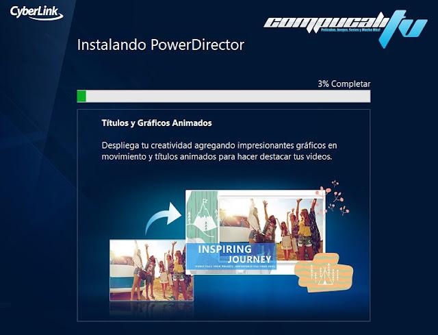 CyberLink PowerDirector Versión 18.0 Final Español