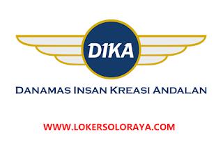 Loker Solo Account Officer di PT  Danamas Insan Kreasi Andalan