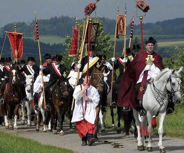 Procissão do Preciosíssimo Sangue, em Weingarten, Alemanha