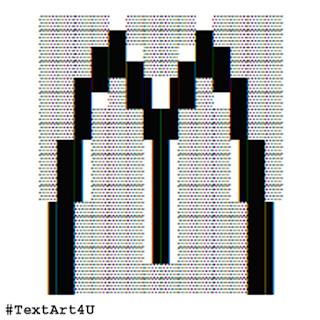 McDonald's Logo Symbol ASCII Art