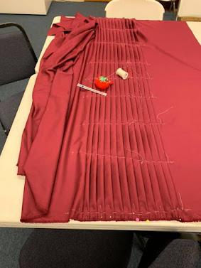 Pleated Kilt Fabric