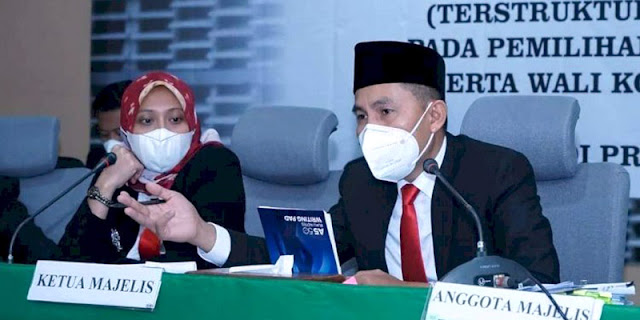 MA Kabulkan Permohonan Eva-Deddy, 'Hancurkan' Wibawa Dan Integritas Bawaslu Lampung