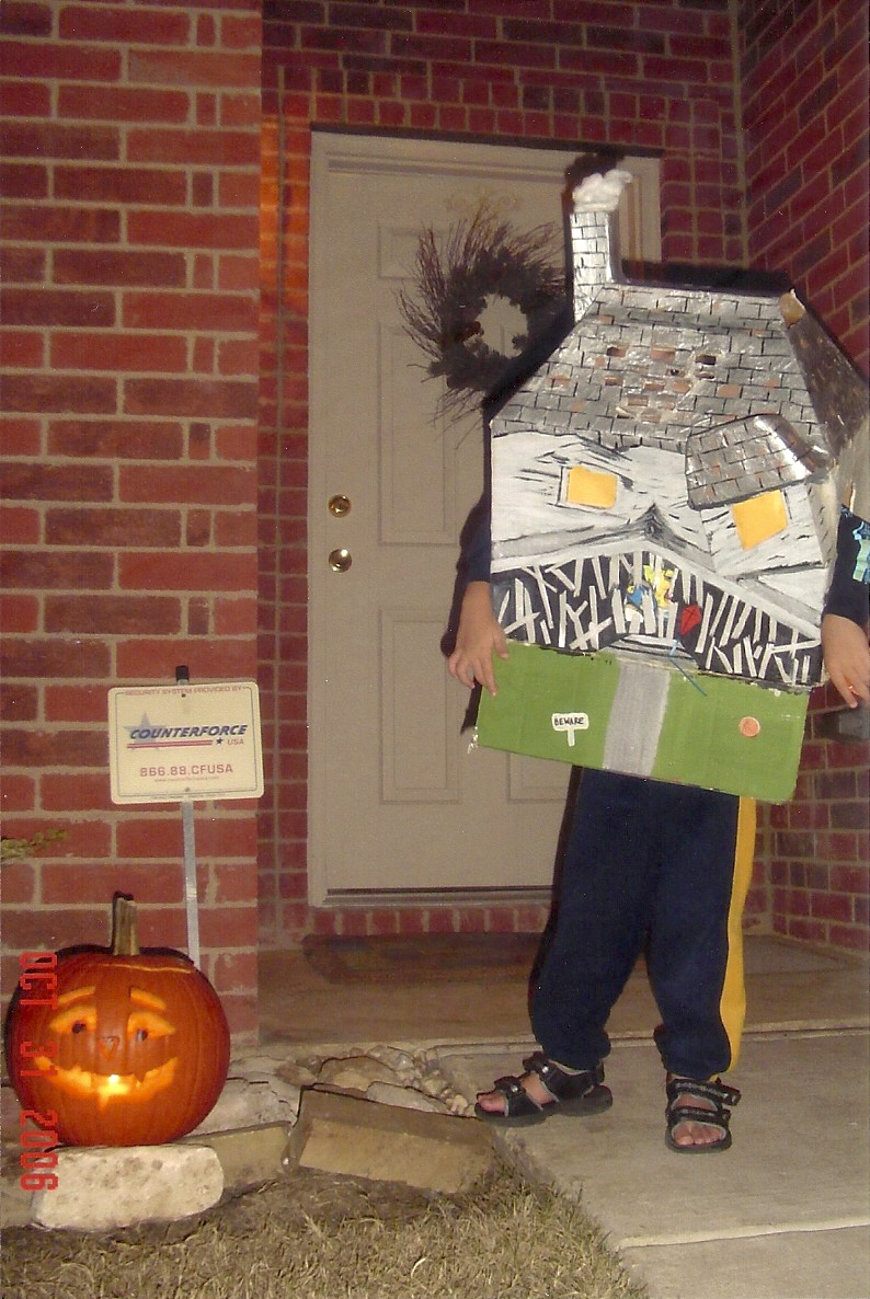 Scrappy Sugar Girl Monster House Costume