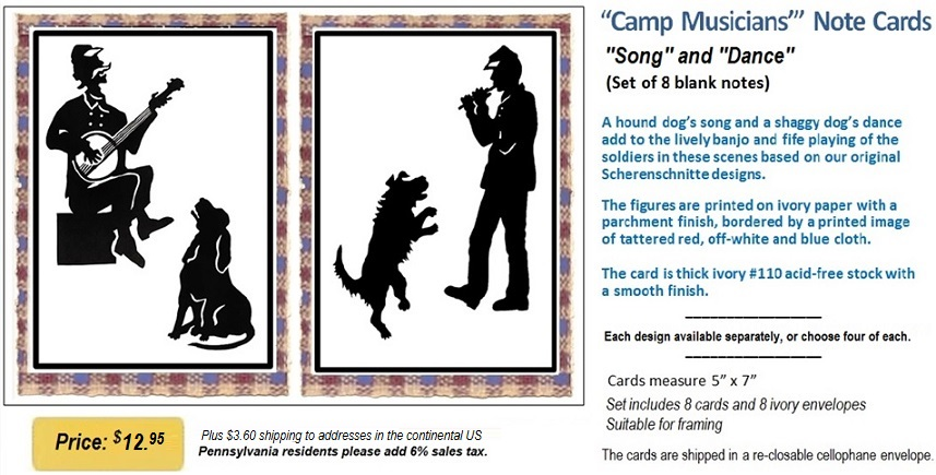 Loyalty of dogs greeting cards camp musicians card set m4hsunfo