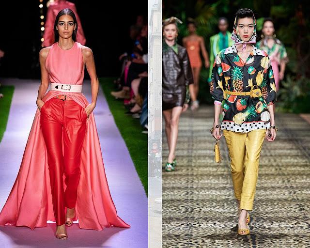 Модные брюки весна-лето 2020 7-2