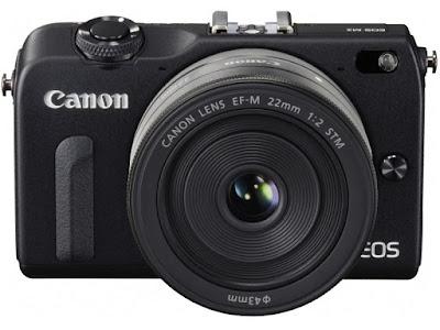 Canon EOS M2 DSLRファームウェアのダウンロード