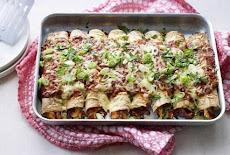 إنشلادا فراخ | المطبخ المكسيكي  Mexican cuisine Chicken enchiladas