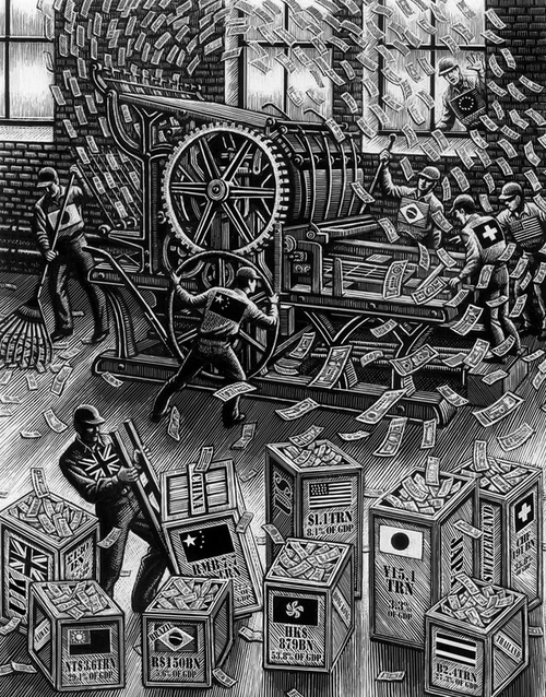 05-Making-Money-Douglas-Smith-Scratchboard-Drawings-Through-Time-and-Lives-www-designstack-co