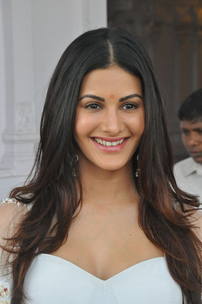 Actress Amyra Dastur New White Dress Stills