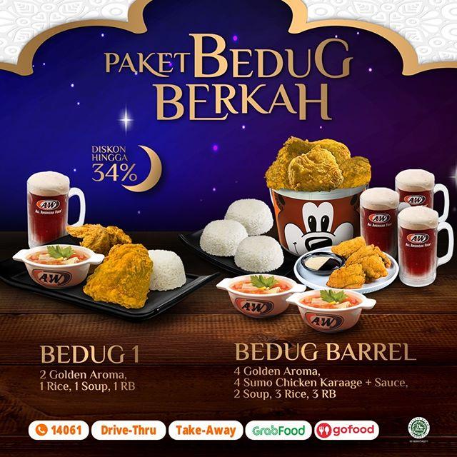 #AW - #Promo Paket Bedug Berkah Diskon Hingga 34% Ramadhan 2020