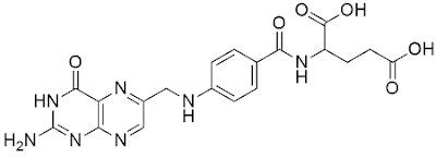 Structure of vitamin B9