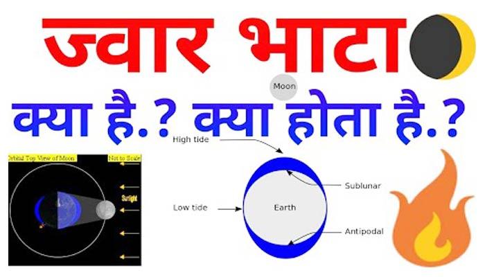 ज्वार भाटा किसे कहते है? What is Tides (Sea Jwar bhata)