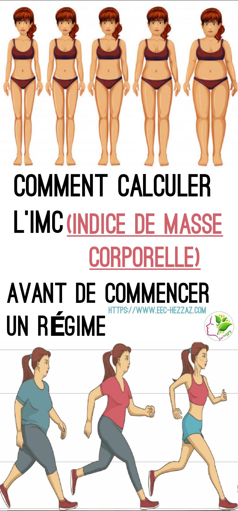 Comment calculer l'IMC (indice de masse corporelle) avant de commencer un régime