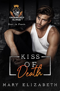 Kiss of Death Book Cover Image Mary Elizabeth