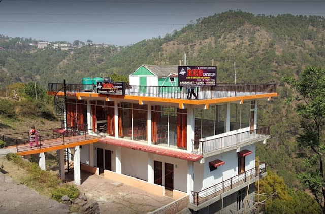 The Red Capsicum - Punjabi Dhaba near Dharampur