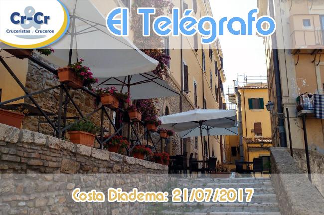 EL TELÉGRAFO - QUINTO DÍA - COSTA DIADEMA 17/07/2017 AL 24/07/2017