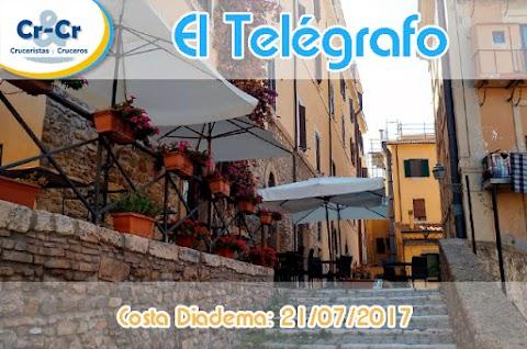 EL TELEGRAFO - QUINTO DIA - COSTA DIADEMA 17/07/2017 AL 24/07/2017